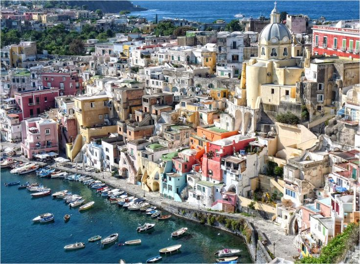 Procida, Italy Procida is a beautiful Mediterranean island paradise. Terra Murata is the highest point on the Island aswell as its heart.