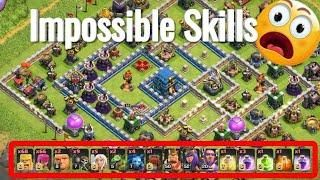 Wtf Attack Max Barbarian Archer Impossible Destroy 3 Star Th12
