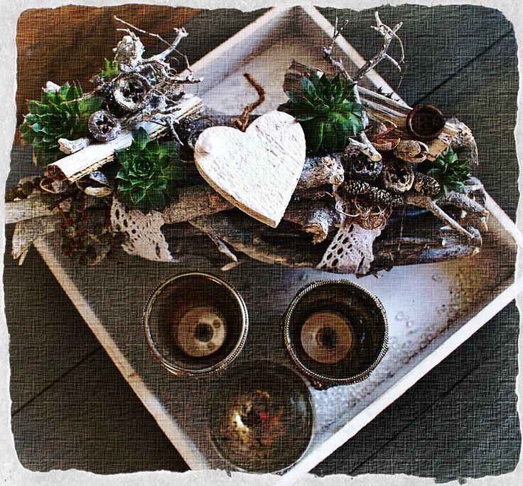 Dienblad decoratie <3 Brocante