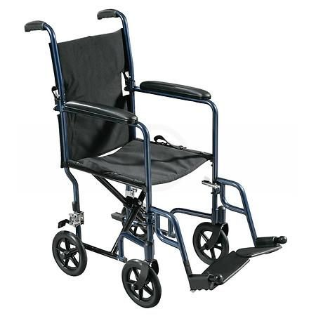 Drive Medical Lightweight Transport Wheelchair - 1 ea