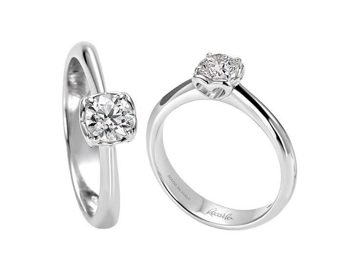 """Una promessa d'amore...il dono di un """"cuore""""! Recarlo, Collezione Anniversary. http://www.gioielleriagigante.it/categoria-prodotto/gioielli-donna/recarlo/"""