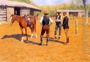 Buying Polo Ponies In The West  by Frederic Remington