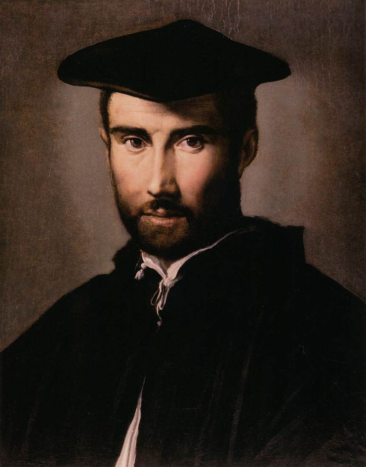 Parmigianino (Girolamo Francesco Maria Mazzola) (Italian 1503–1540) [Mannerism] Portrait of a Man Masters of Art.