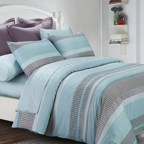 Graphica Aqua by Daniadown Bedding