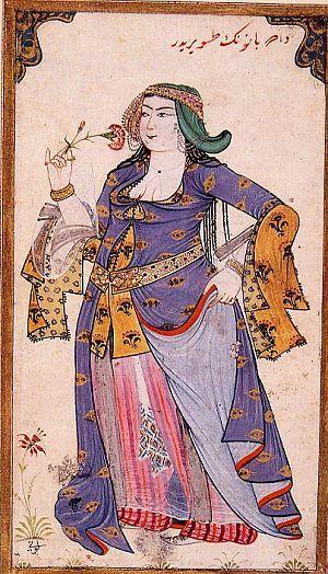 Turkish garb color patterns