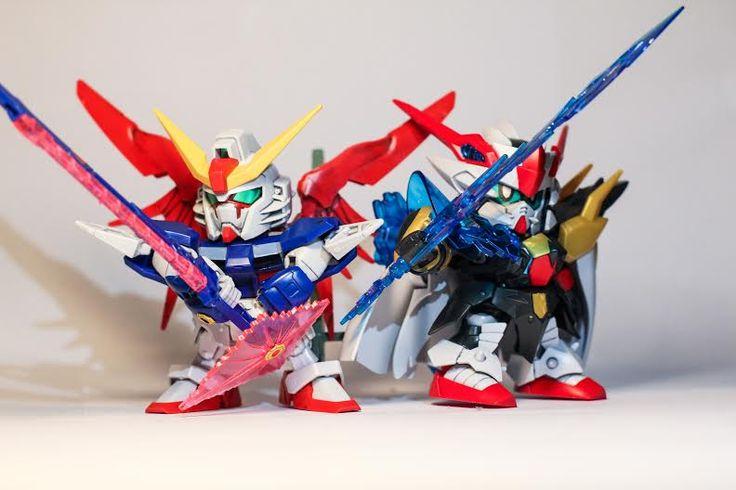 "Hien Nguyen. ""Get Ready For Battle!!!!""  Legend BB Devil Dragon Blade Zero Gundam SD Destiny Gundam"