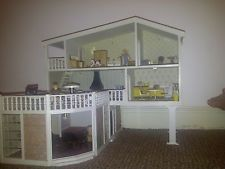 Barton/Claremont Chaletu0026Extension By Carolines Home1980u0027s Collectors Doll  House