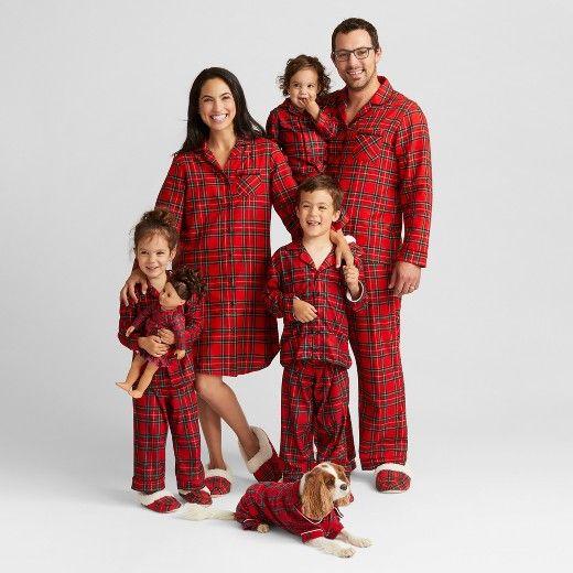 5e23e21aee66 Plaid matching family pjs! So cute!  christmaspajamas  matchingpjs   affiliate