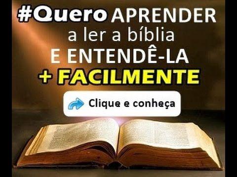 Bíblia Online - Bíblia Sagrada - Bíblia de estudo - Aprenda a ler e ente...