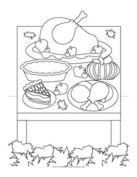 7 best Free Thanksgiving Coloring Pages images on