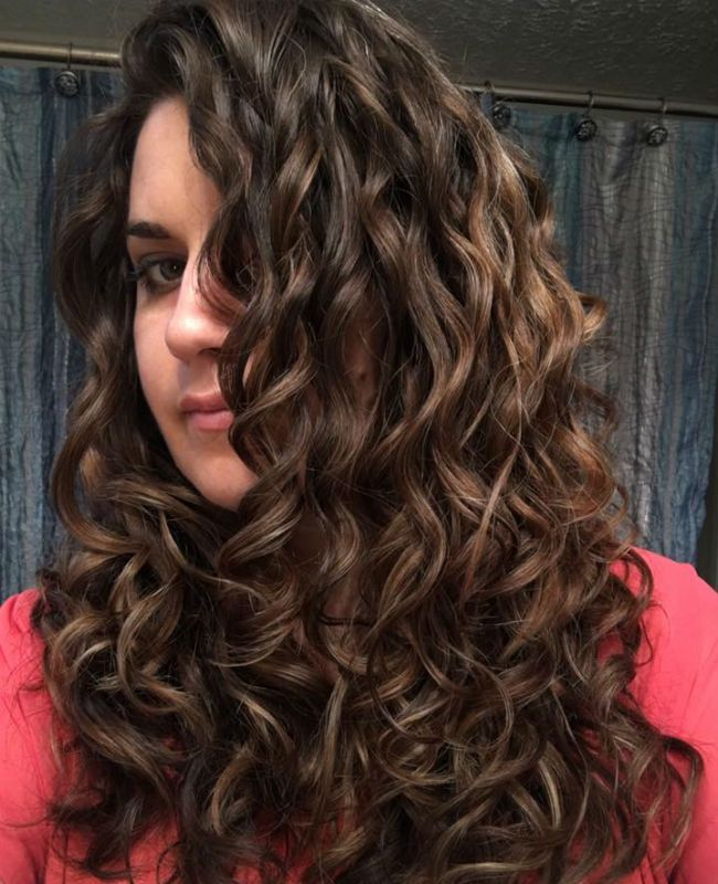 how to make natural hair look wet and wavy