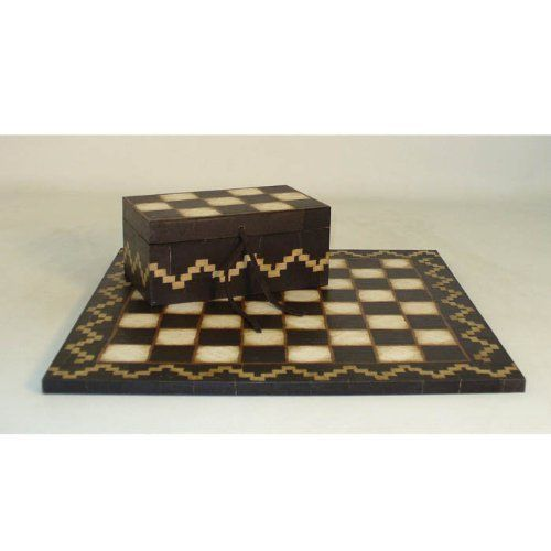 "Unique to say the least, very sharp, plus chess piece storage box! Add this to your collection or someone else's as a gift! Ships FREE Ground Cont U.S. + 10% off ALL orders $99 and up!  The Game Supply - 15"" Southwestern Design Chess Board, $229.95 (http://www.thegamesupply.com/15-southwestern-design-chess-board/) #southwestdesignchessboard"