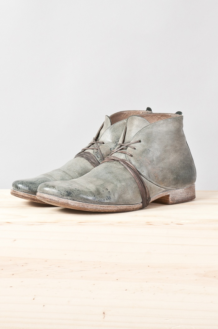 buried lambskin ankle boot — re. porter
