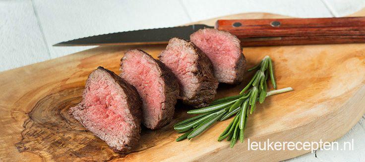 Perfect gebakken biefstuk: tips + video