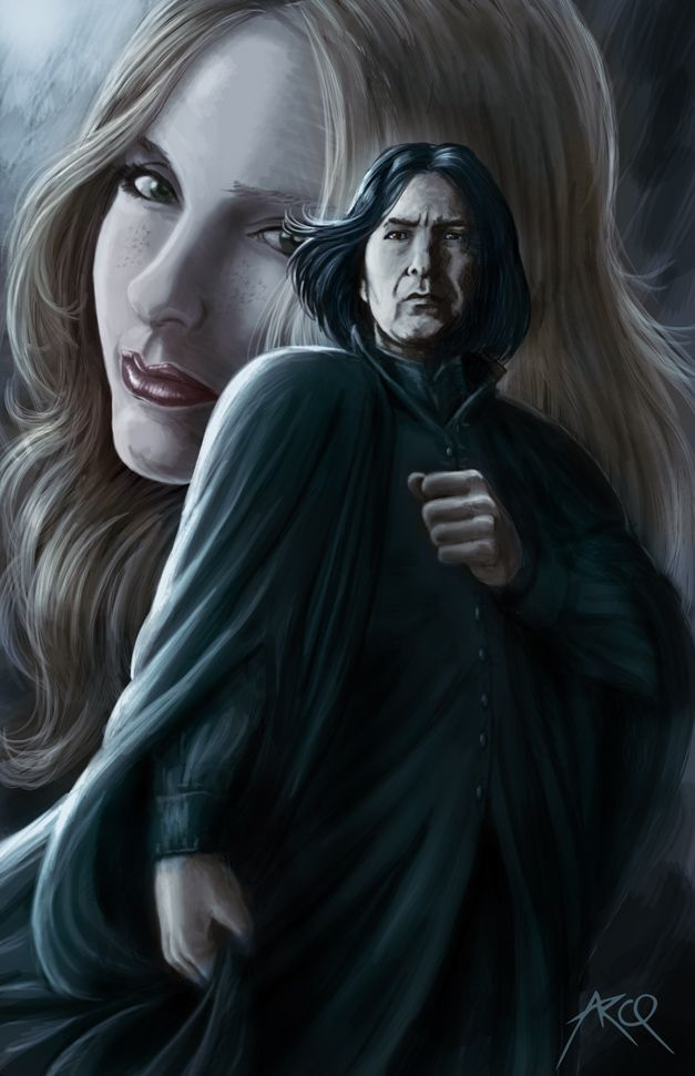 the very best snape and lily fan art will make you feel so
