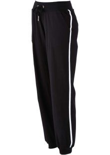 Stretch-Jogginghose, bpc bonprix collection, schwarz