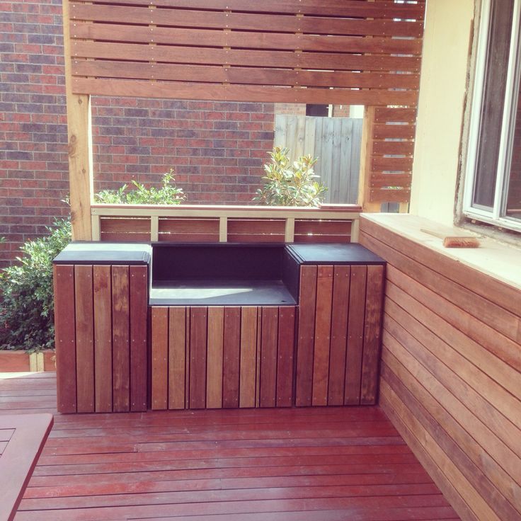 Bbq area ready for granite Benchtops