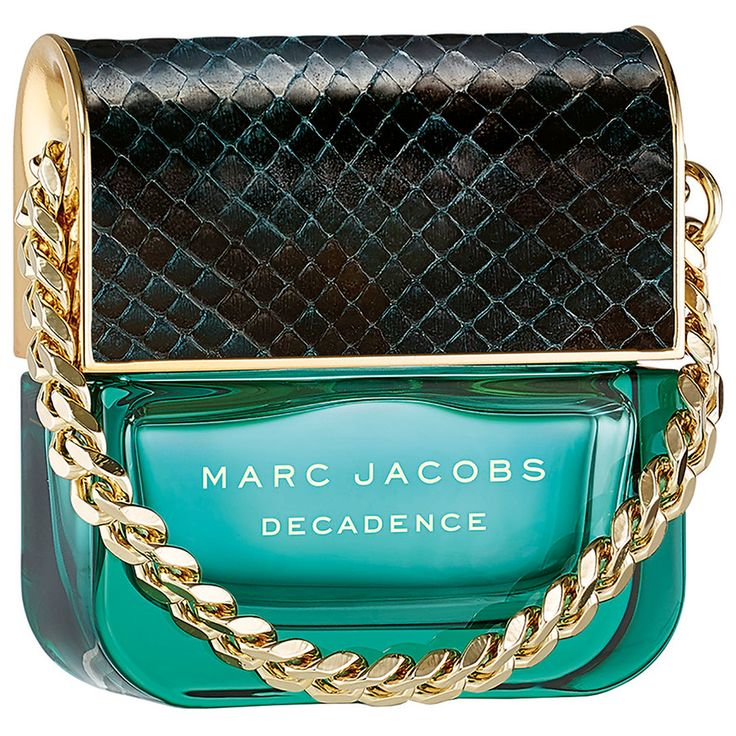 Decadence by Marc Jacobs is a powdery, ambery, fruity, woody Floriental fragrance with plum, iris and saffron in the top. Rose, jasmine and orris root in the middle. Amber, vetiver and papyrus in the base. - Fragrantica