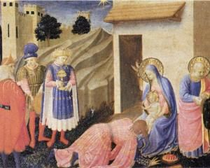 Adoration of the Magi - Fra Angelico