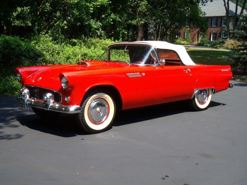 Thunderbird - red1957 Ford, Classic Cars, Ford Thunderbirds, 1955 Thunderbirds, 55 Ford, 1955 Tbird, Dreamcars, Carse Trucks, Dreams Cars