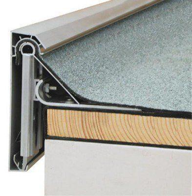 Für größere Ansichtsflächen und einen sicheren Abschluss am Dachrand werden mehrteilige Dachrandabschlussprofile eingesetzt
