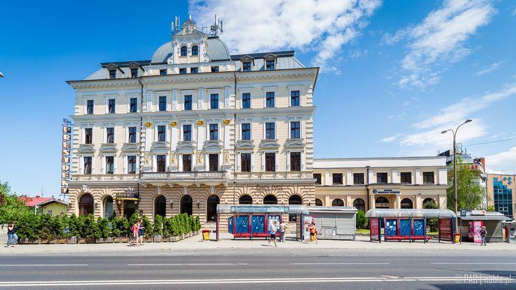Hotel President from 1892 in Bielsko-Biala, Poland