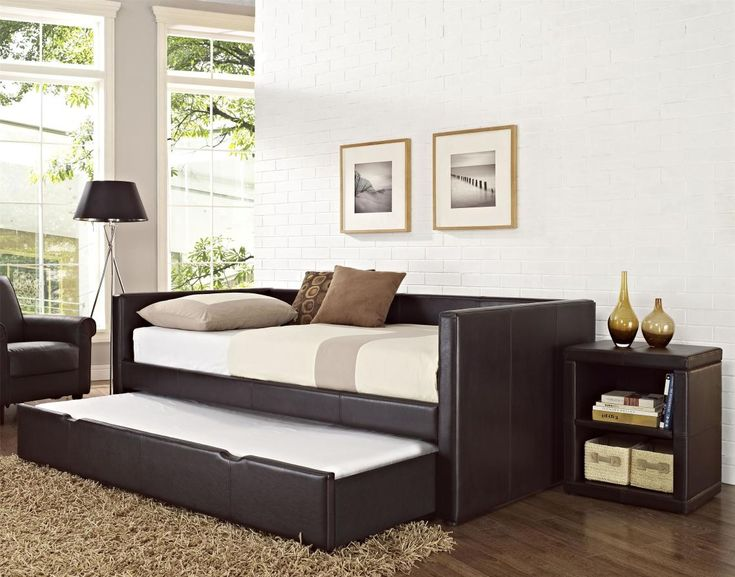 daybed set awe dark brown wooden as furniture wooden daybeds uk framing with white mattress side