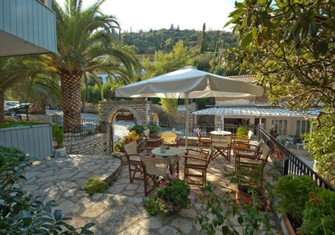 In the heart of the picturesque Aghios Nikitas at Hotel Nefeli