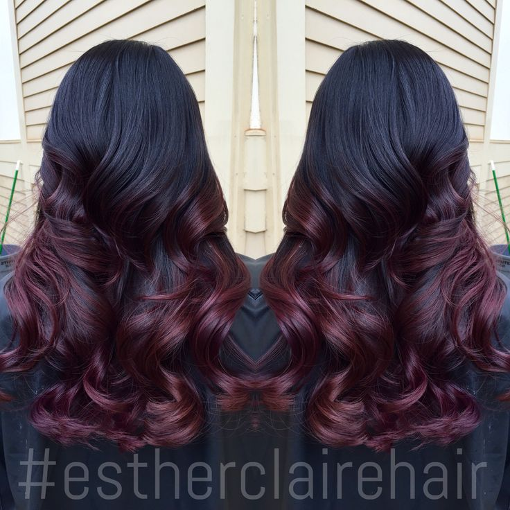 #ombre #redombre #colormelt #balayage #estherclairehair