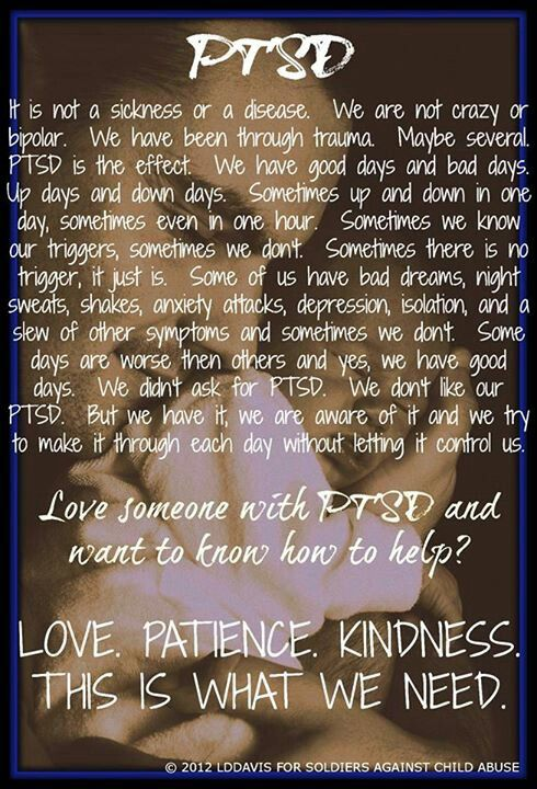 Love, patience, kindness is what we need