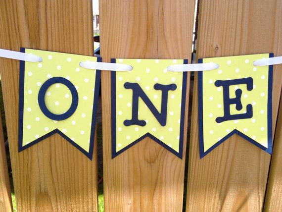custom ONE high chair banner ONE I am 1 I am one by JaeMakes