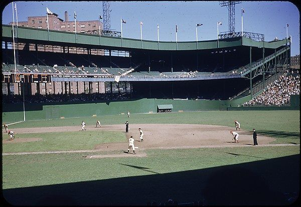 September 5, 1952. In front of 5,391 fans the Giants face the Phillies at the Polo Grounds. Photo: Walker Evans Archive, 1994