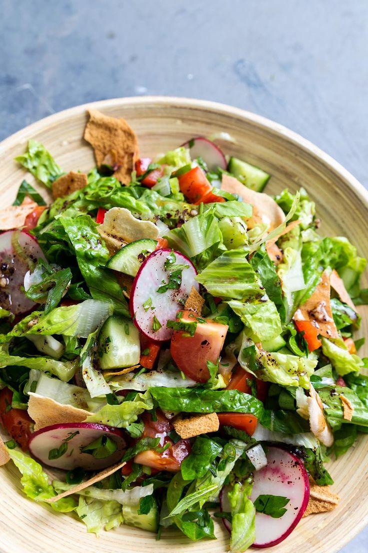 Fattoush Salad   The Lebanese Plate
