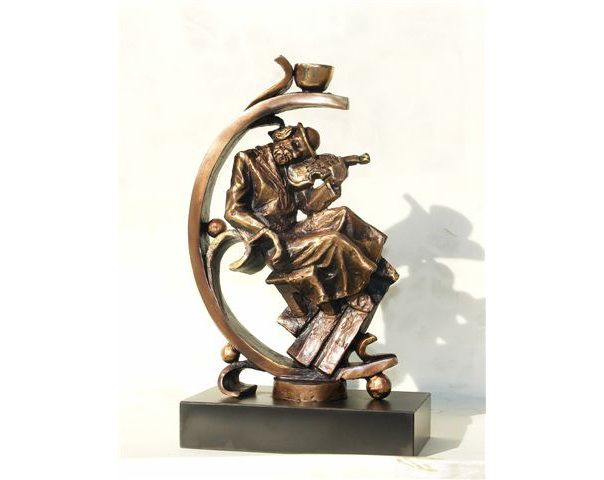Fiddler on the roof by Baruch Saktsier now featured on ArtDealer