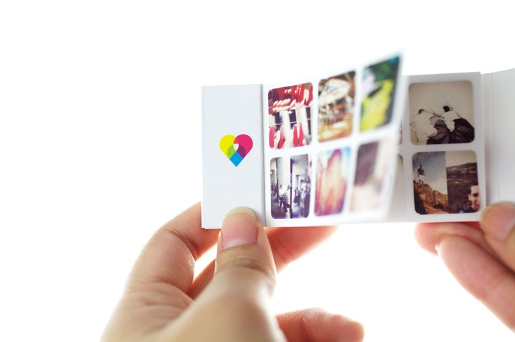 Mini-Stickers made from your Instagram Photos
