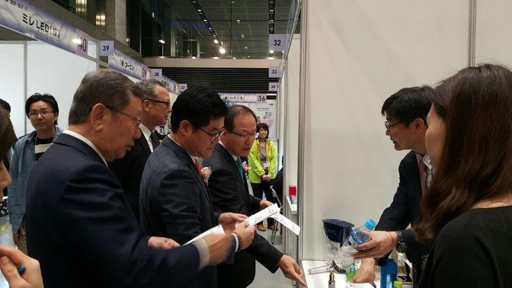 hydrogen #alkaline show in #japan 1 - Biocera.co.kr