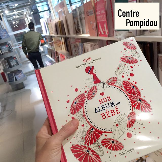 NINA AND OTHER LITTLE THINGS®: NINA AT POMPIDOU BOOK STORE