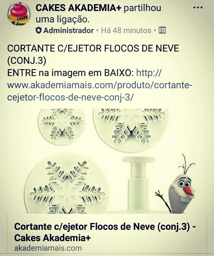 CORTANTE C/EJETOR FLOCOS DE NEVE (CONJ.3) ENTRE na imagem em BAIXO: http://www.akademiamais.com/produto/cortante-cejetor-flocos-de-neve-conj-3/