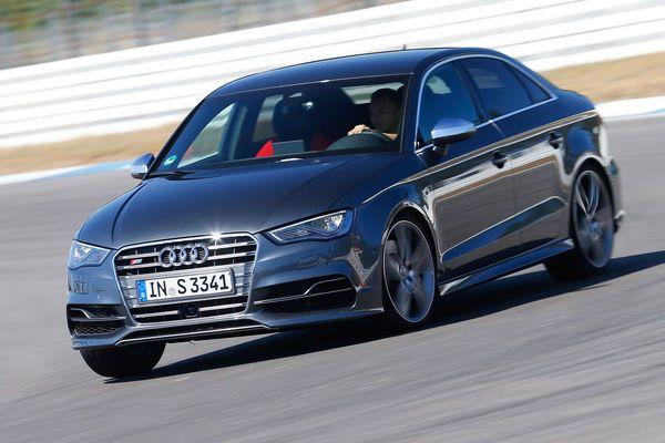 Audi S3 gegen Subaru WRX STi und BMW M135i x-Drive: Satz mit WRX - AUTO MOTOR UND SPORT