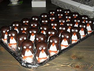 Kindertraktaties: Negerzoen pinguins