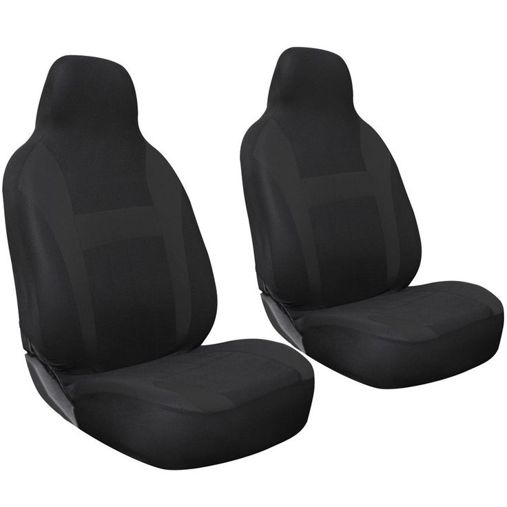 Nice Amazing Car Seat Covers For Auto Nissan Altima 2pc Bucket Black w/integrated head rest 2018 Check more at http://auto24.ga/blog/amazing-car-seat-covers-for-auto-nissan-altima-2pc-bucket-black-wintegrated-head-rest-2018/