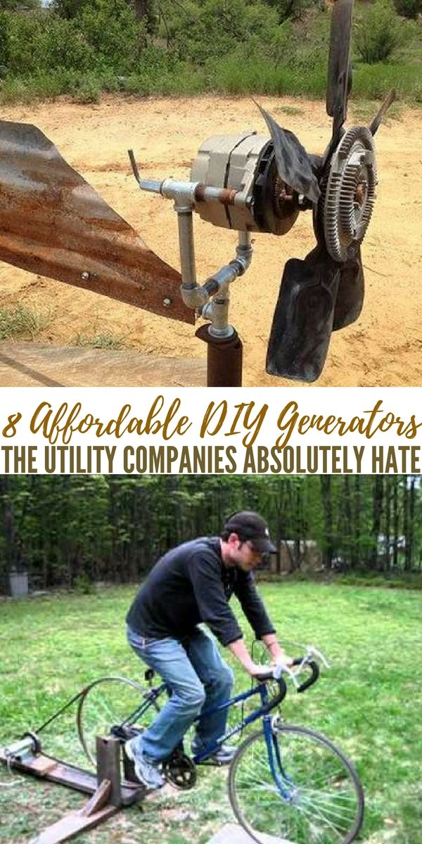 8 Affordable DIY Generators The Utility Companies Absolutely Hate - This article is great because it takes the idea of electricity and explores it long before getting into creating these generators. The background on the productions and storage of electric power is the perfect preface to the meat of this article. It also helps you decide which generator will work best for you. I was partial to the hydro but that is because of my personal proximity to water.