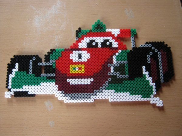 Cars Francesco Bernoulli hama beads by perleshama30