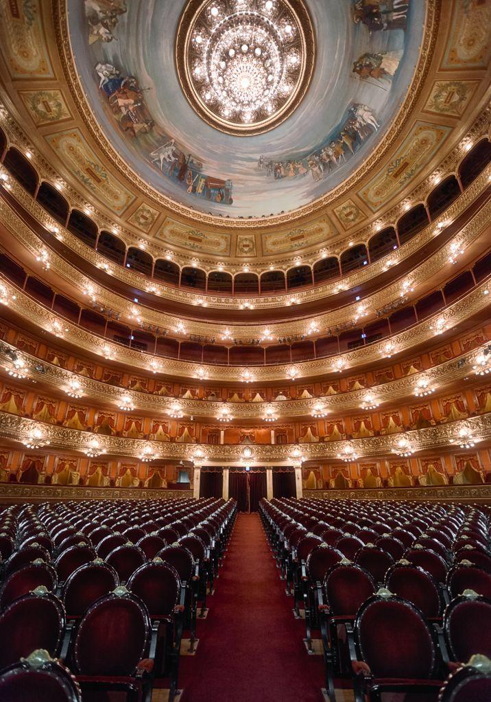 Teatro Colón in Buenos Aires Argentina.