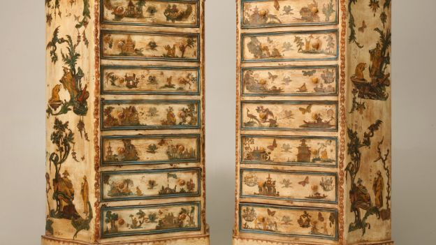 Come iniziare a fare il decoupage: Paintings Furniture, Chiffonier, Antiques Commode, Decoupage Dressers, Antiques Furniturea2Zoffercom, Italian Decoupage, Antiques Italian, Decoupage Semani, Chest Of Drawers