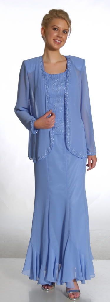 Plus Size Mother Bride Dresses | Details about Mother Of The Bride Jacket Dress XL Plus Size Modest ...