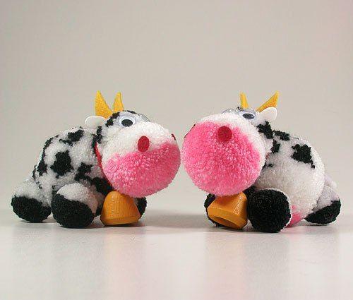 animalitos de pompones de lana - Buscar con Google