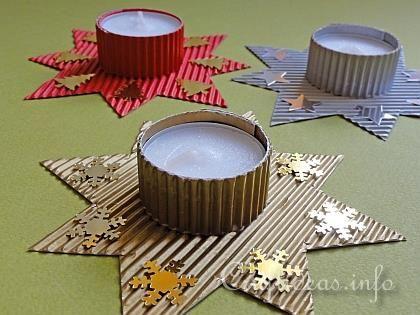 Christmas Star Tea Light Holder
