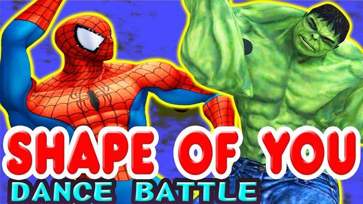 Spiderman vs Hulk - Ed Sheeran - #Shapeofyou #cover