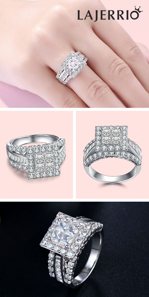 7a9f80056 #600338, Lajerrio Jewelry engravable #engagement#rings for her for him for  couples